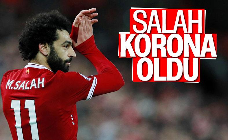 Mohamed Salah, koronavirüse yakalandı