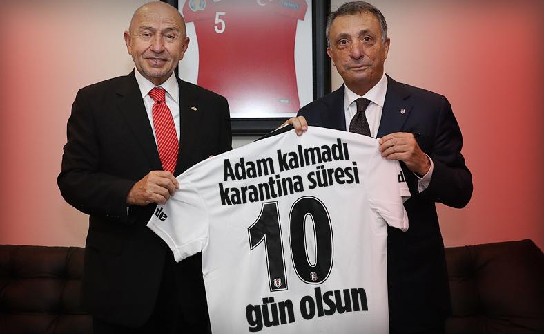 Beşiktaş'tan TFF'ye karantina talebi