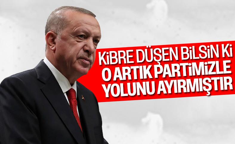 Cumhurbaşkanı Erdoğan: Partimizde şahsi çıkarlarını davasının üzerine çıkaranlara yer yok