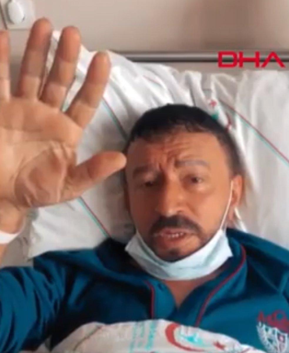 Mustafa Topaloğlu yoğun bakımdan çıktı #1