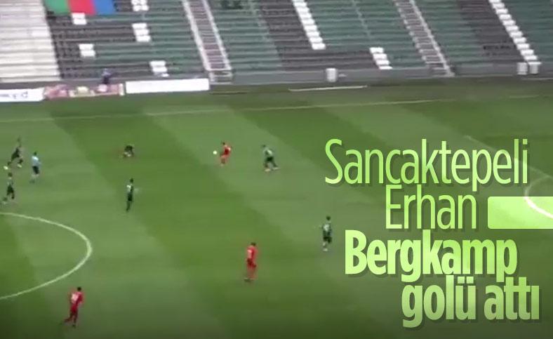 Sancaktepeli Erhan Şentürk'ten Bergkamp golü