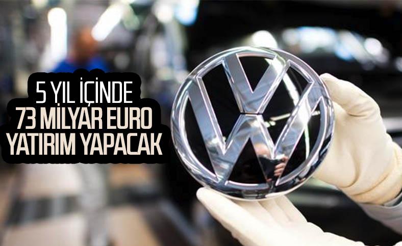 Volkswagen, elektrikli ve hibrit teknolojilerine 73 milyar euro harcayacak