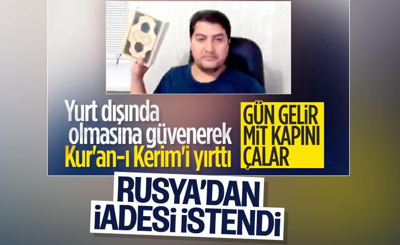 Kur'an-ı Kerim'i yırtarak hakarette bulunan kişi hakkında soruşturma açıldı