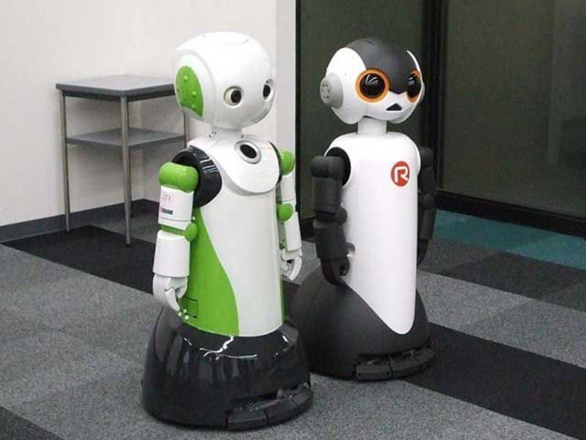 Japonya da maske takmayanları ve sosyal mesafeye uymayanları tespit eden robot: Robovie #1