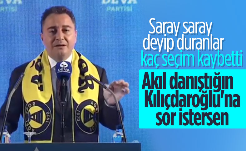Ali Babacan saray siyasetine başladı