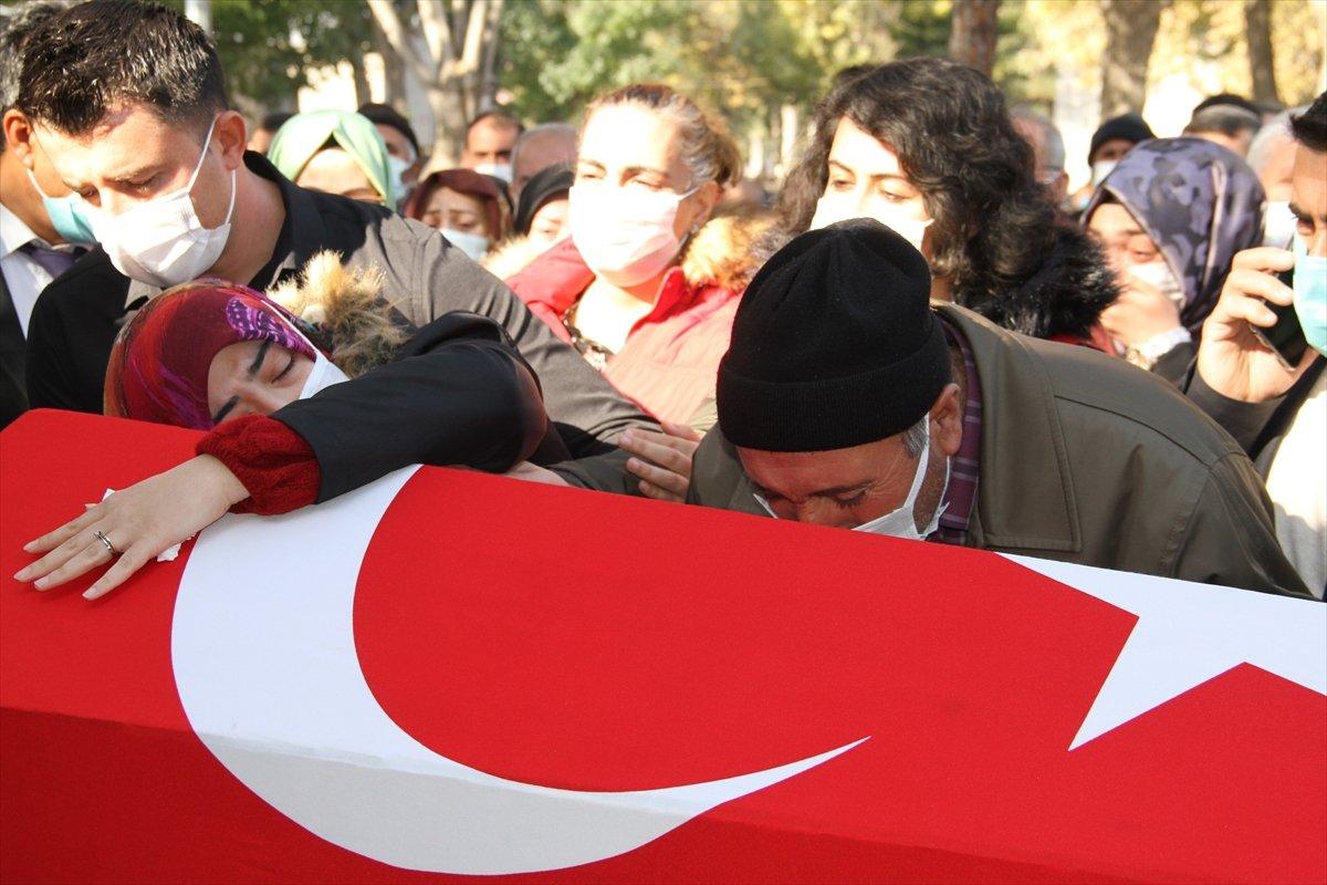 Şehit Piyade Teğmen Burhan Sönmez, memleketi Kayseri de defnedildi #3