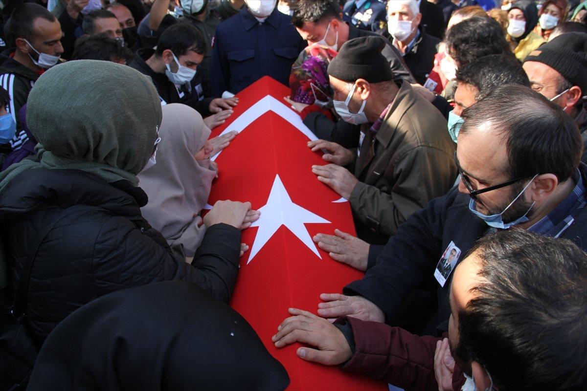 Şehit Piyade Teğmen Burhan Sönmez, memleketi Kayseri de defnedildi #4