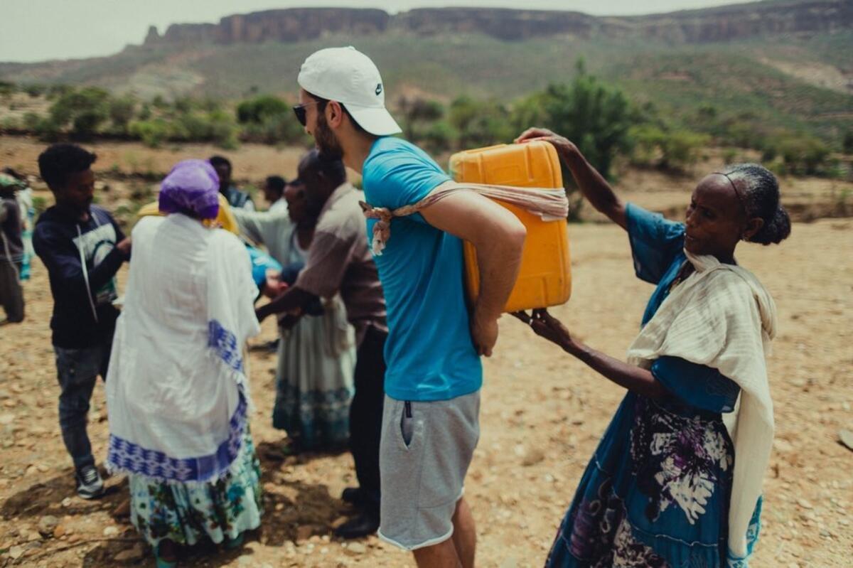 Nuri Şahin: Etiyopya da 30 bin kişiye temiz su sağlayacağız #1