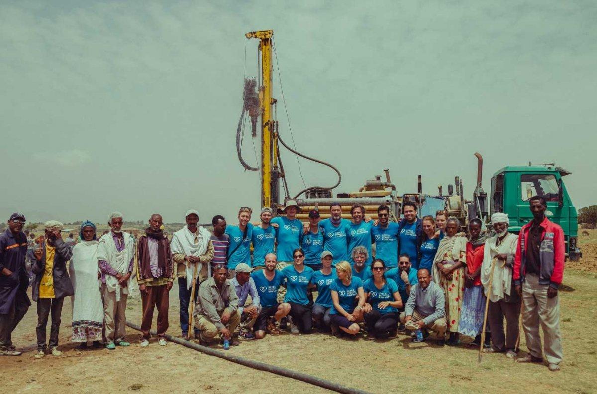 Nuri Şahin: Etiyopya da 30 bin kişiye temiz su sağlayacağız #4