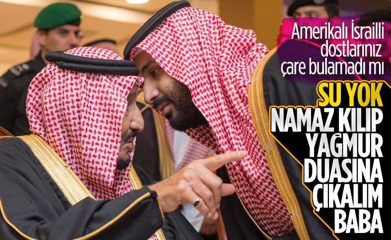 Suudi Arabistan'da yağmur duası talimatı