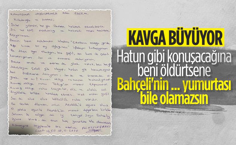 Alaattin Çakıcı'dan Kılıçdaroğlu'na: Sen kurt ile çakalı karıştırıyorsun