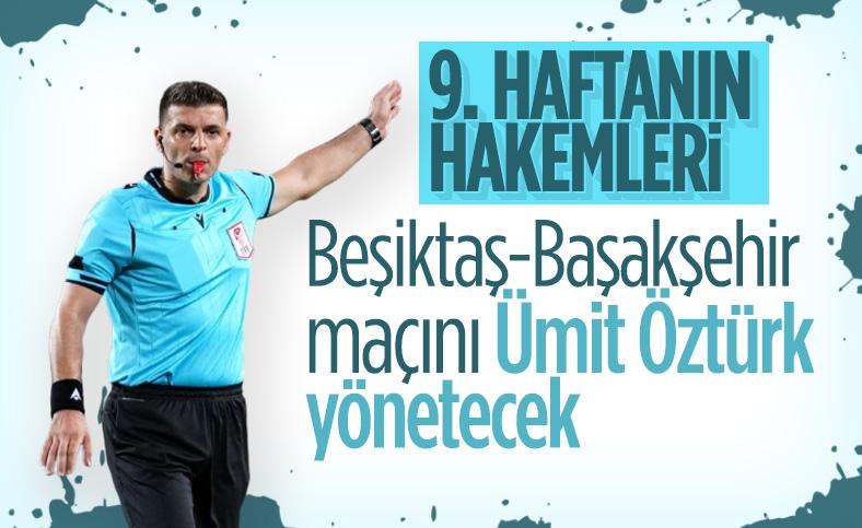 Süper Lig'de 9. haftanın hakemleri