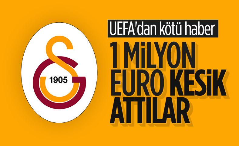 UEFA'dan Galatasaray'a pandemi kesintisi