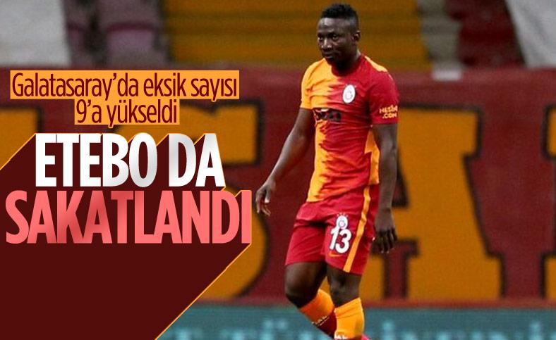 Galatasaray'ın oyuncusu Etebo, milli takım maçında sakatlandı