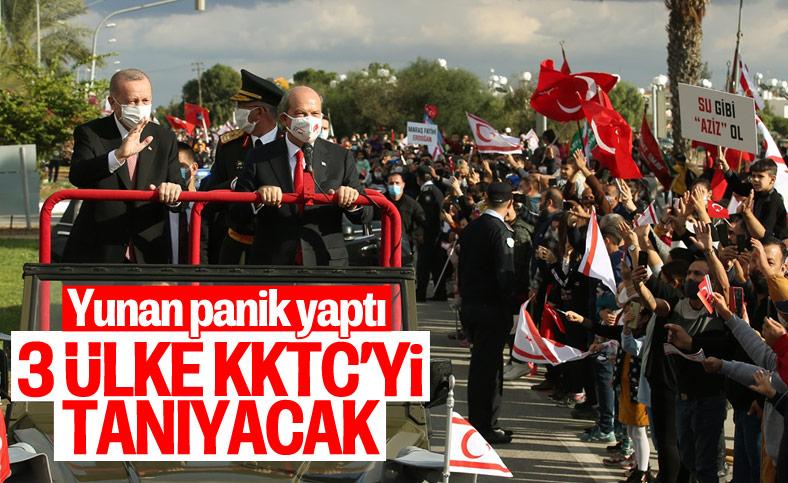 Yunan medyası yazdı: Azerbaycan, Pakistan ve Libya KKTC'yi tanıyabilir
