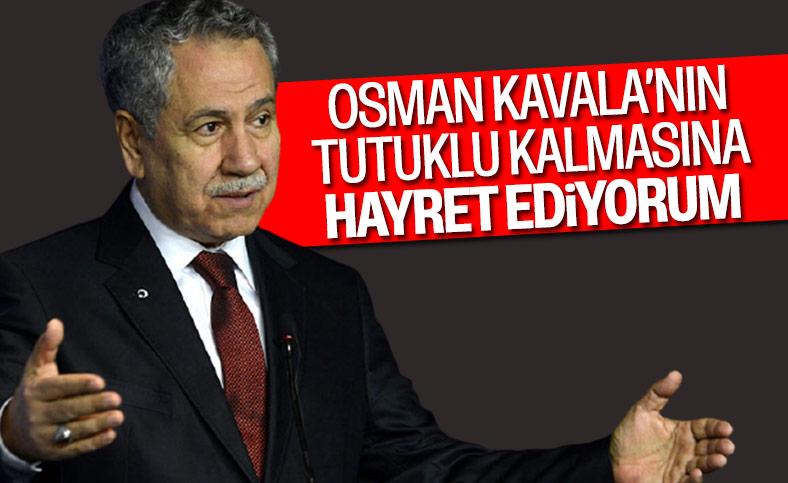 Bülent Arınç: Osman Kavala tahliye edilmeli