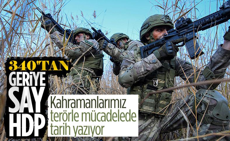 Süleyman Soylu: Yurt içindeki terörist sayısı 340'ın altına düştü