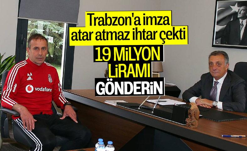 Ahmet Nur Çebi: Abdullah Avcı, Trabzon'a imzayı attıktan sonra ihtarname gönderdi