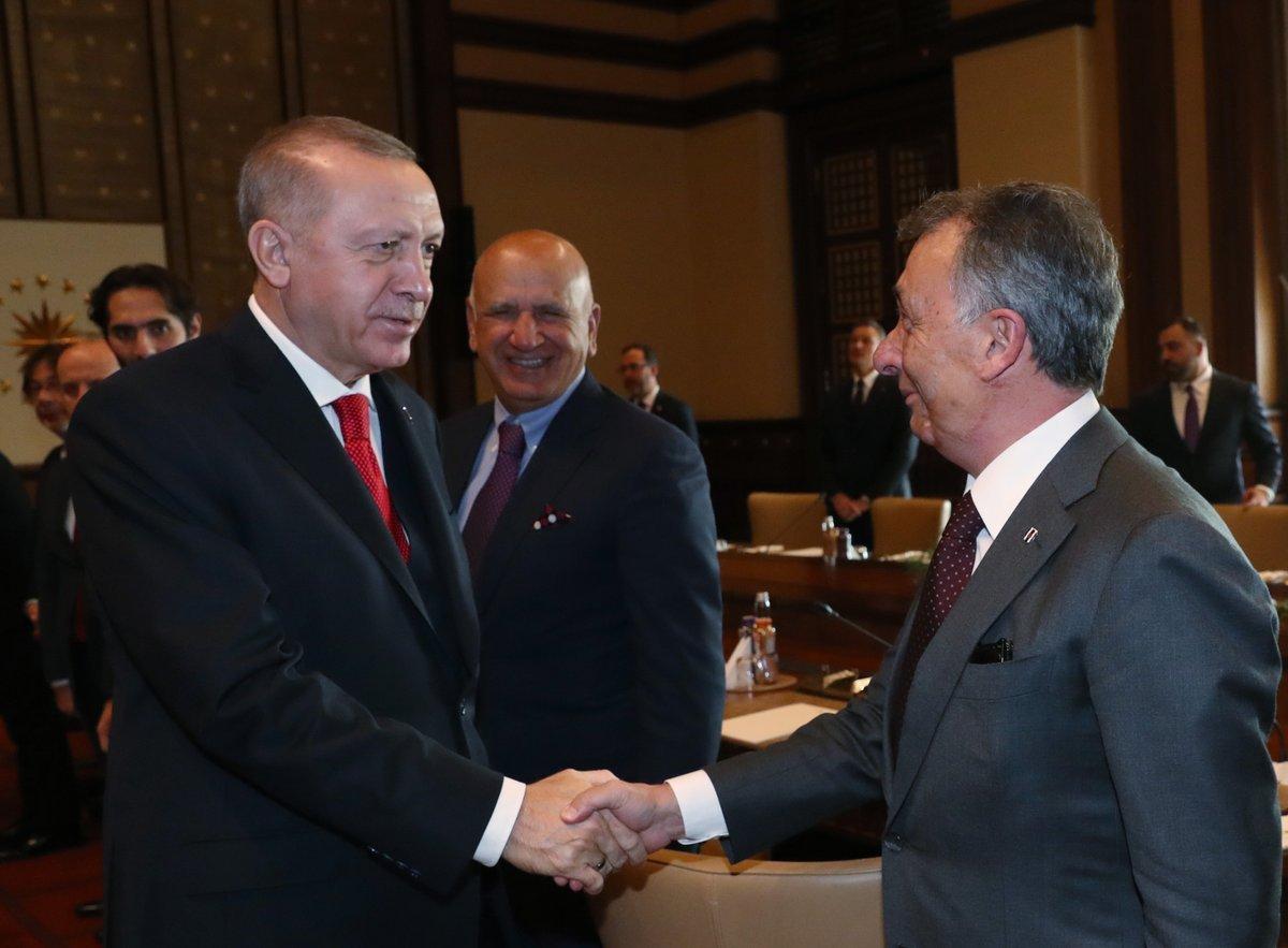 Ahmet Nur Çebi, Erdoğan ile yaptığı görüşmeyi anlattı #1
