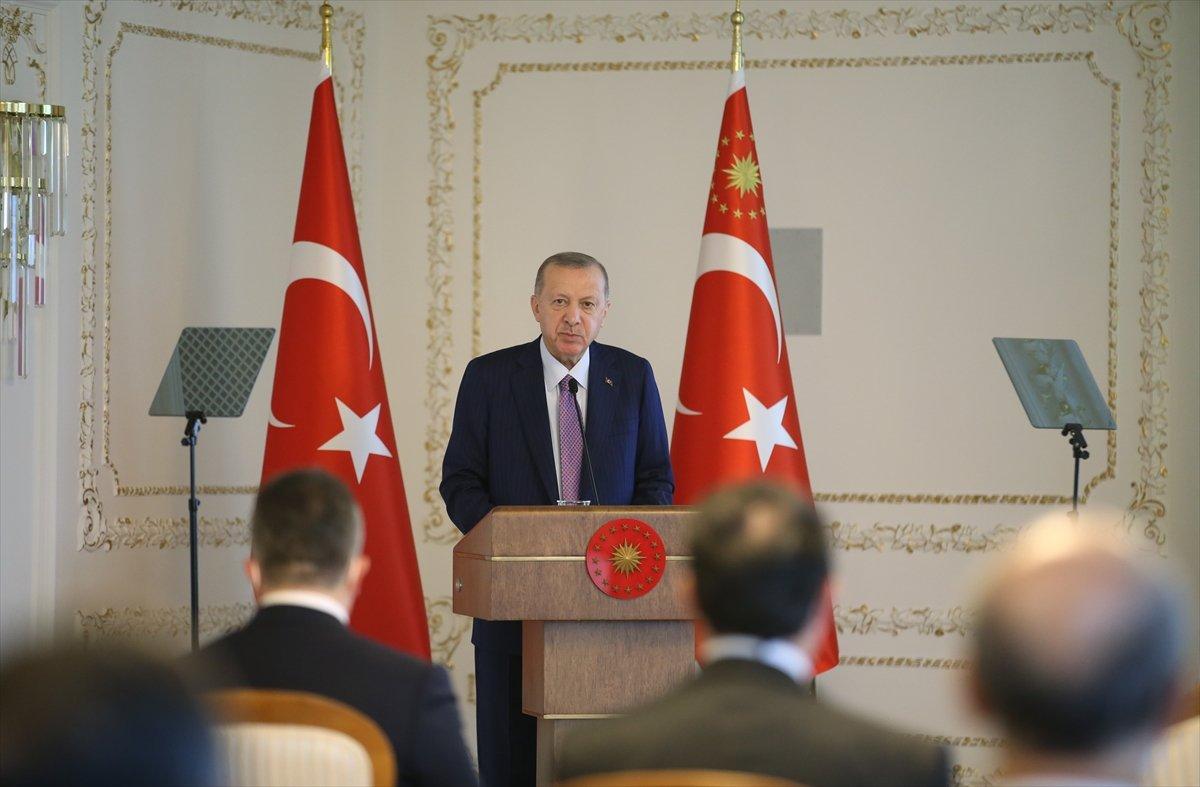Cumhurbaşkanı Erdoğan, TİM heyetini kabul etti #1