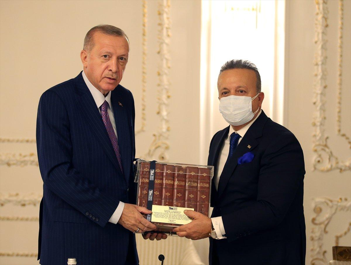 Cumhurbaşkanı Erdoğan, TİM heyetini kabul etti #2