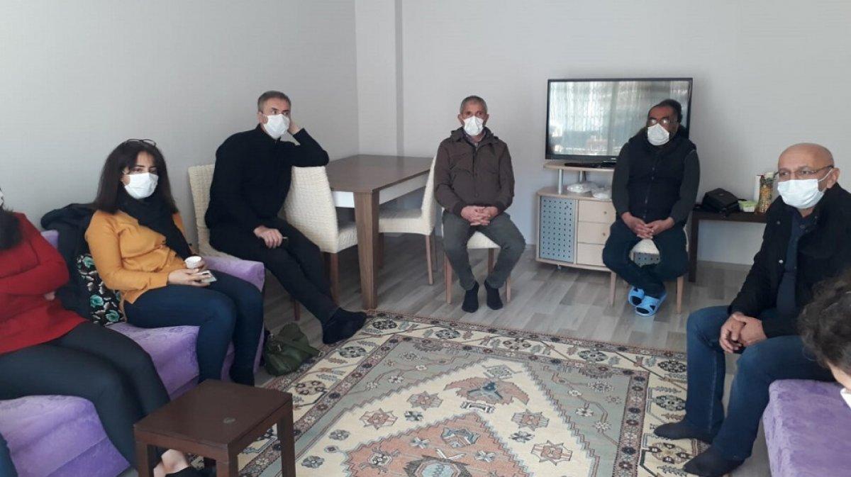 HDP den öldürülen terörist İsmail Sürgeç in ailesine taziye ziyareti #2