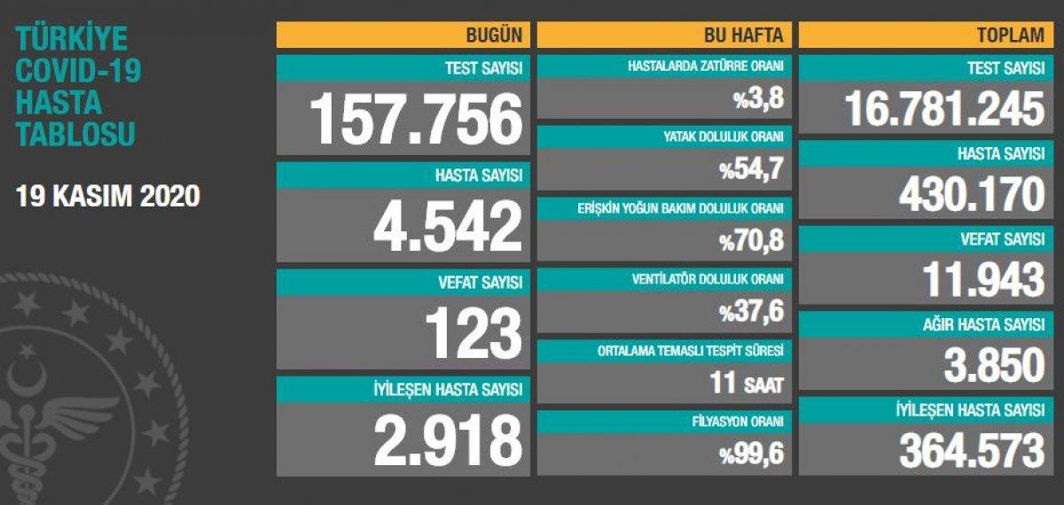 19 Kasım Türkiye de koronavirüste son durum  #1
