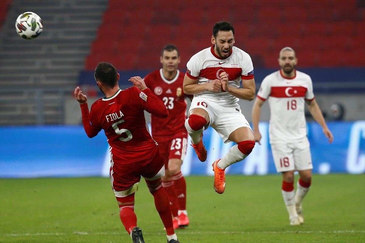 Türkiye, Uluslar Ligi nde Macaristan a yenildi #1