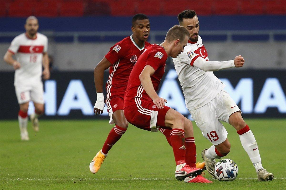 Türkiye, Uluslar Ligi nde Macaristan a yenildi #2