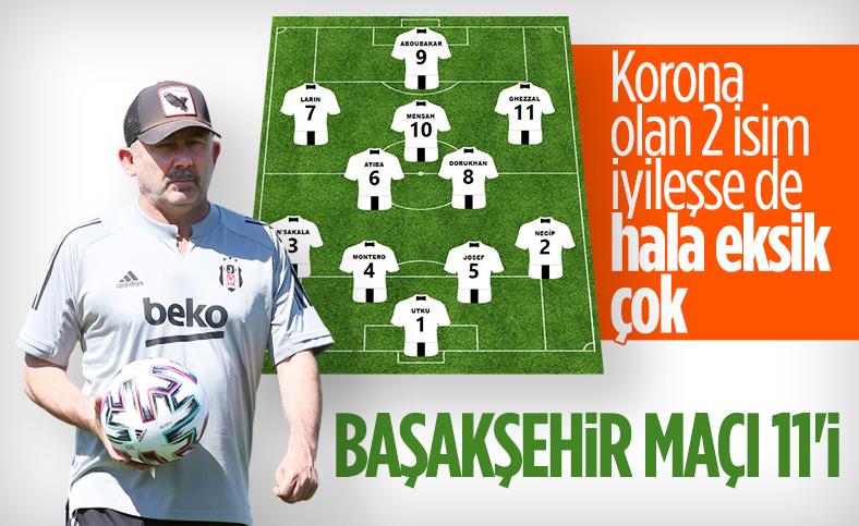 Sergen Yalçın'ın Başakşehir maçı 11'i