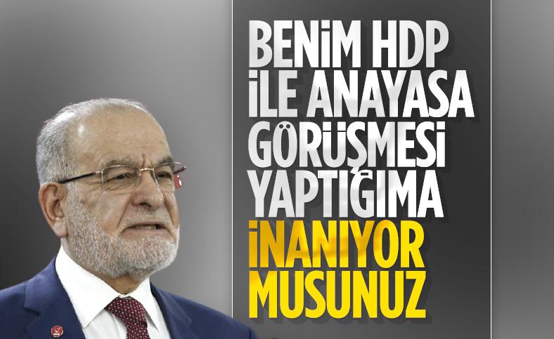 Temel Karamollaoğlu anayasa iddialarına cevap verdi