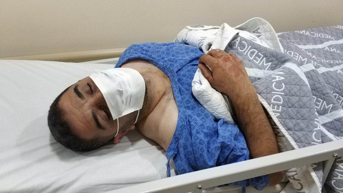 Samsun'da babasının bıçakladığı şahsı taburcu olunca kardeşi vurdu