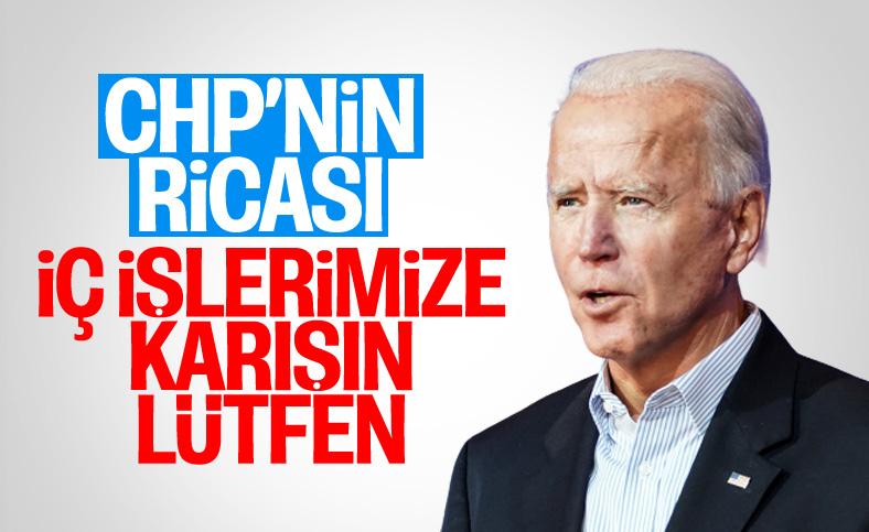 Ünal Çeviköz, CHP'nin Biden'dan beklentisini açıkladı