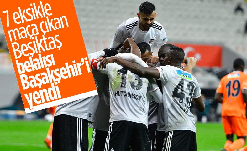 Beşiktaş, derbi öncesi Başakşehir'i 3-2 yendi