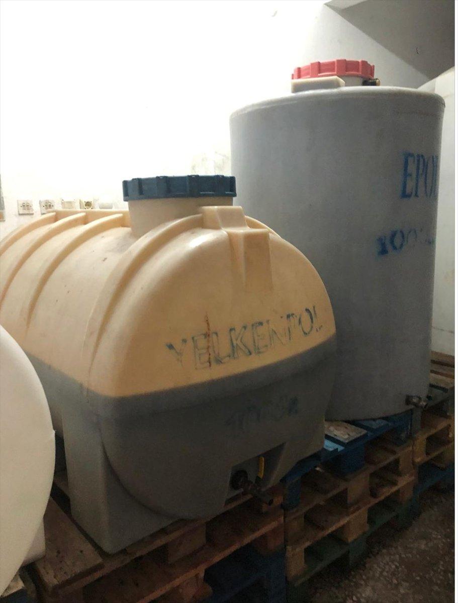 Tekirdağ da sirke fabrikasında 90.5 ton kaçak içki ele geçirildi #3