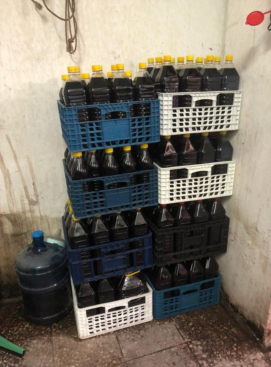 Tekirdağ da sirke fabrikasında 90.5 ton kaçak içki ele geçirildi #4