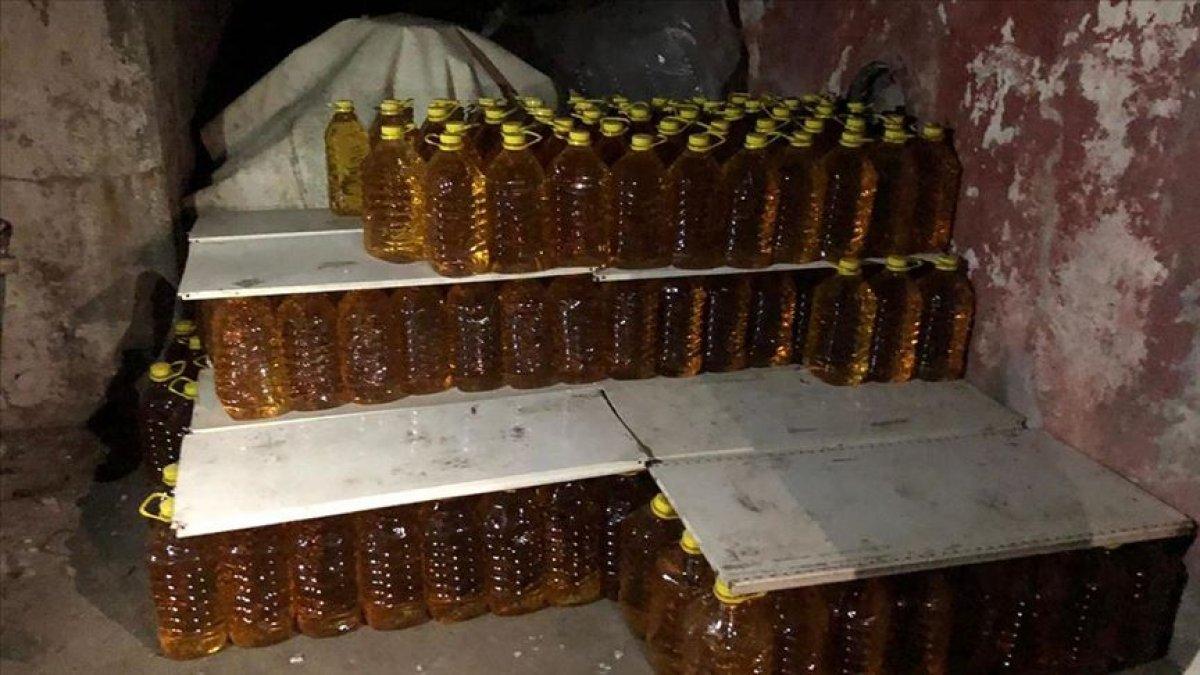 Tekirdağ da sirke fabrikasında 90.5 ton kaçak içki ele geçirildi #2