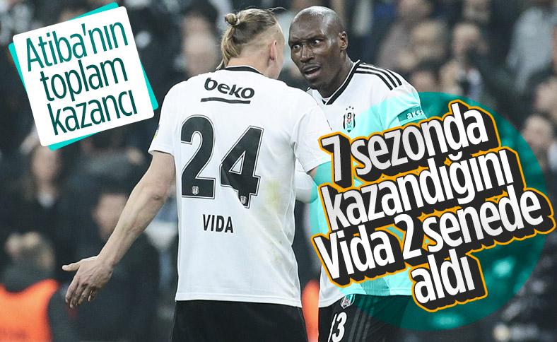 Atiba'nın 7 sezonda Beşiktaş'tan aldığı maaş