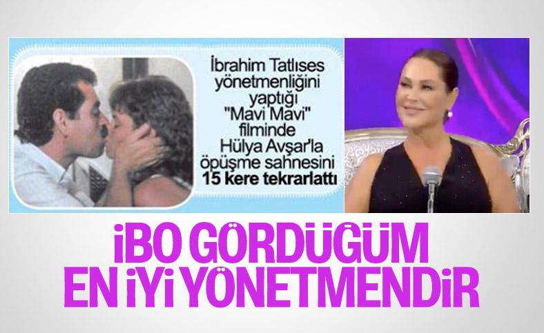 Hülya Avşar: İbrahim Tatlıses, gördüğüm en iyi yönetmendir