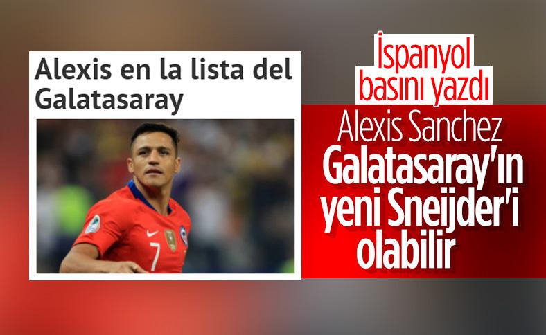 İspanyol basını: Alexis Sanchez Galatasaray'a gidebilir