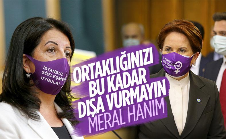 Meral Akşener ve Pervin Buldan, grup toplantılarına aynı maskeyle geldi