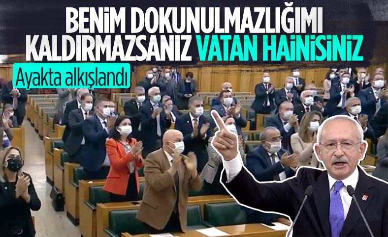 Kemal Kılıçdaroğlu'ndan dokunulmazlık açıklaması