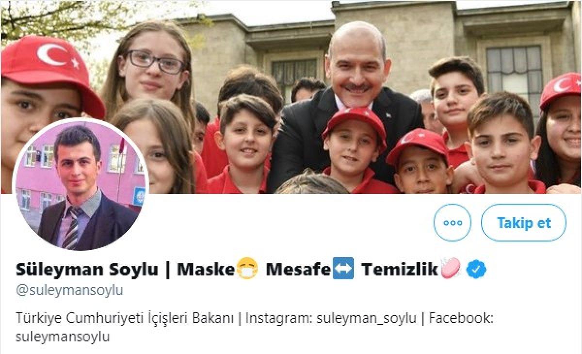 Süleyman Soylu, şehit öğretmen Necmettin Yılmaz ı unutmadı #2