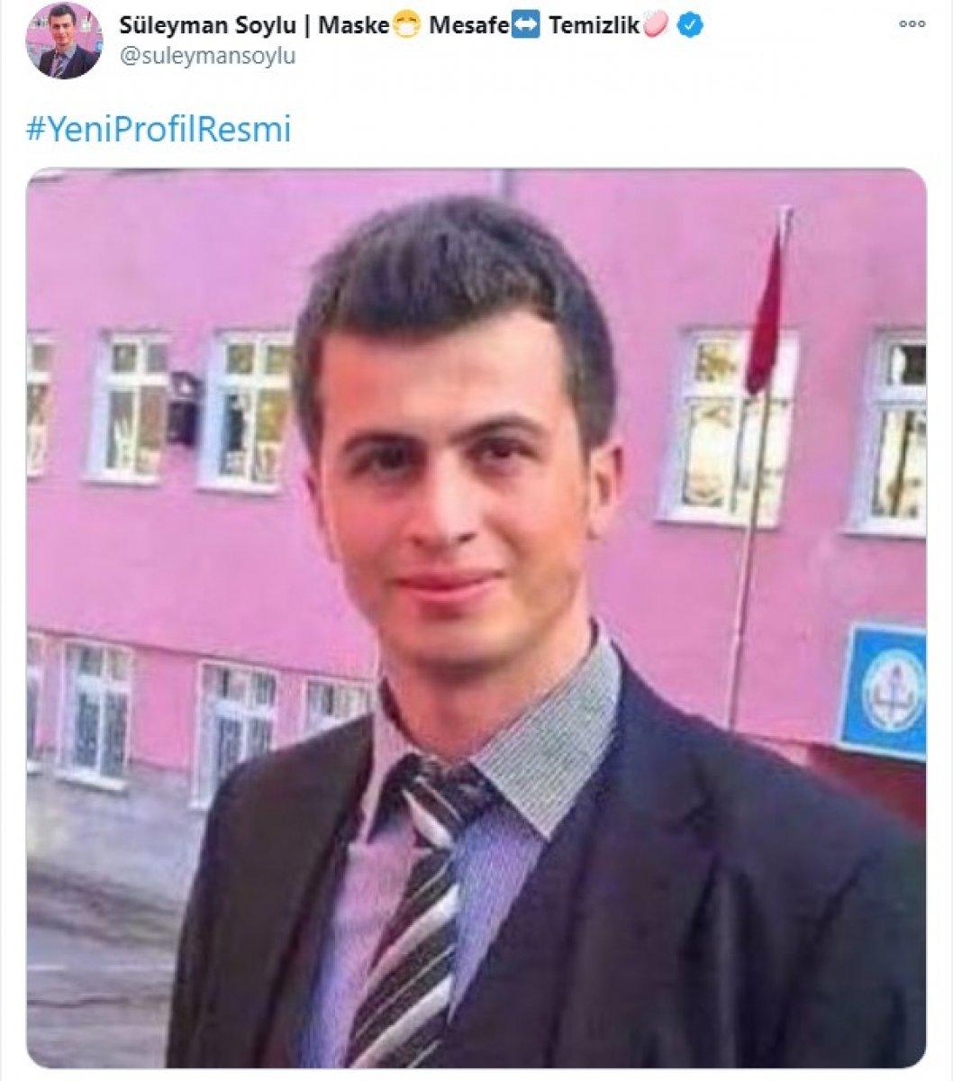 Süleyman Soylu, şehit öğretmen Necmettin Yılmaz ı unutmadı #1