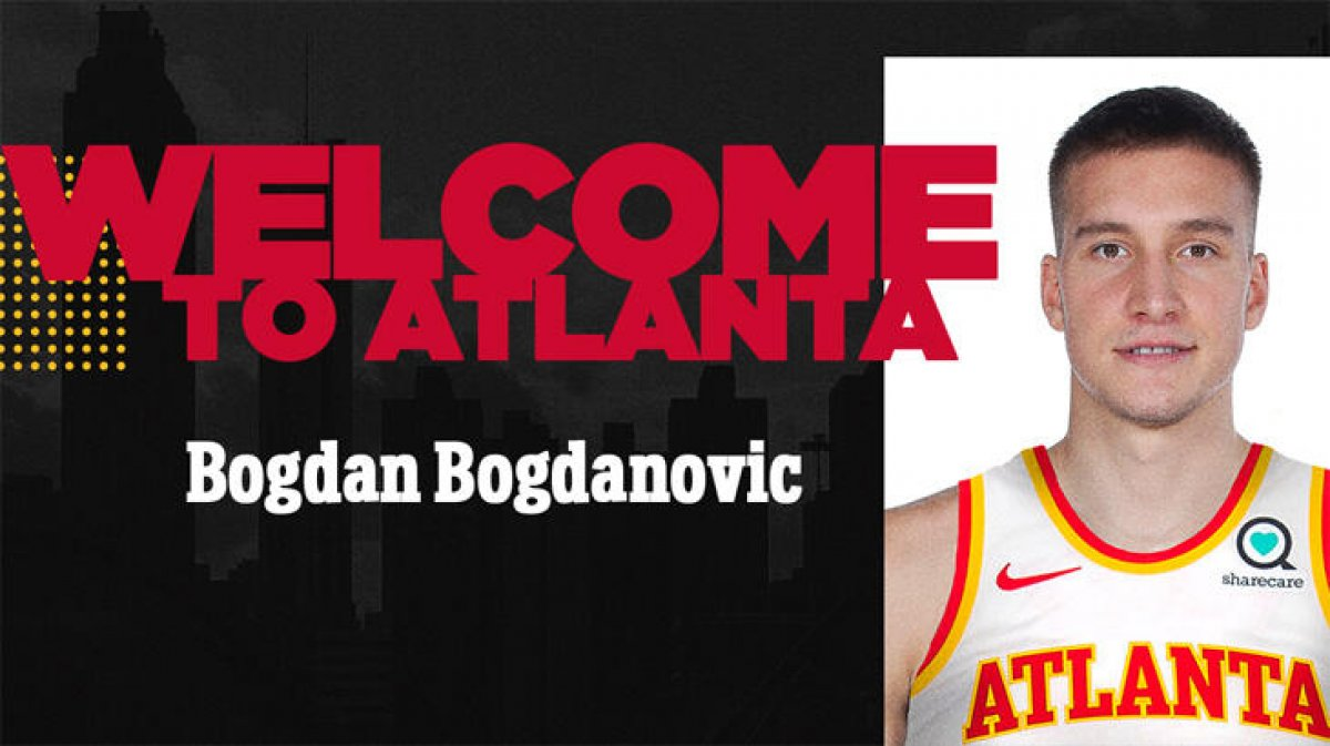 Bogdan Bogdanovic, Atlanta Hawks te #1