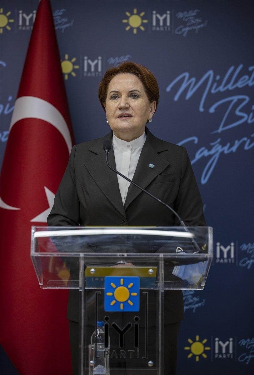 Meral Akşener den HDP ile anayasa yapıldı mı sorusuna sert tepki #1