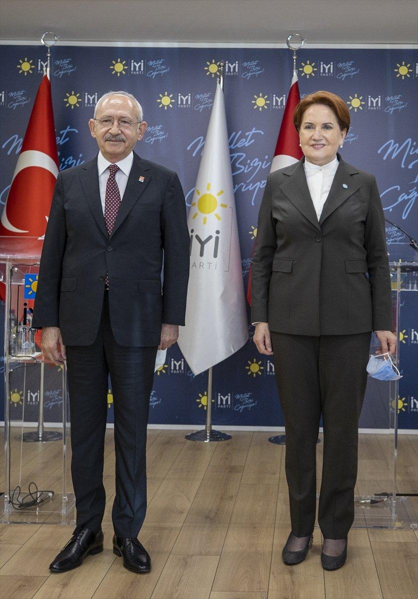 Kemal Kılıçdaroğlu ile Meral Akşener erken seçim istedi #1