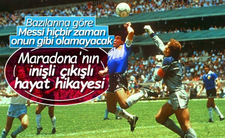 Dünyanın en iyi futbolcularından biri: Diego Maradona