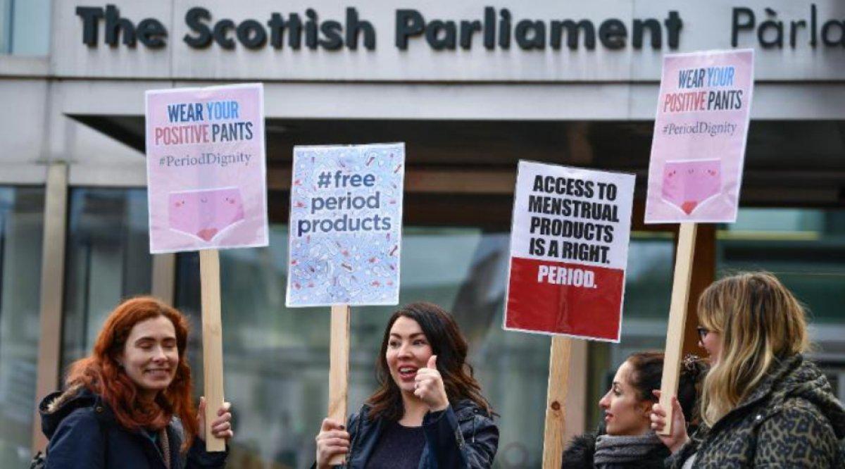 İskoçya da ücretsiz hijyenik ped uygulaması #2