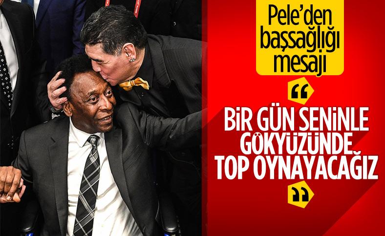 Pele'den Maradona için başsağlığı mesajı